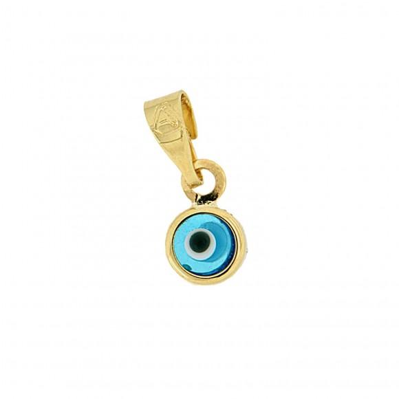 Μάτι χρυσή μπίλια Small κ9
