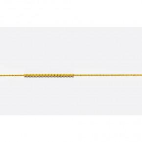 Αλυσίδα Veneziana σε κίτρινο χρυσό 40 εκατοστών, σε 14 καράτια (κ585).