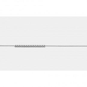 Αλυσίδα venetsiana σε λευκόχρυσο 40 εκατοστών, σε 18 καράτια (κ750).
