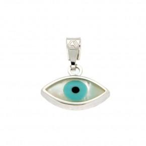 Μάτι λευκόχρυσο 9 καρατίων (κ375)