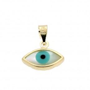 Μάτι χρυσό 9 καρατίων (κ375)