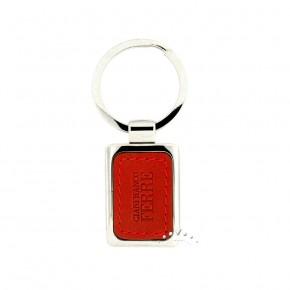 Δερμάτινη κλειδοθήκη Gianfranco Ferre, χρώματος κόκκινου. Κωδικός 17423