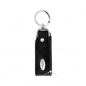 Δερμάτινη κλειδοθήκη Gianfranco Ferre, χρώματος μαύρου, κωδ. 18460.