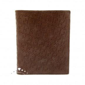 Δερμάτινο πορτοφόλι Gianfranco Ferre, χρώματος καφέ. Κωδικός 18359.