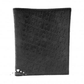 Δερμάτινο πορτοφόλι Gianfranco Ferre, χρώματος μαύρου. Κωδικός 18361.