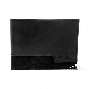 Δερμάτινο πορτοφόλι Gianfranco Ferre, χρώματος μαύρου. Κωδικός 18436.
