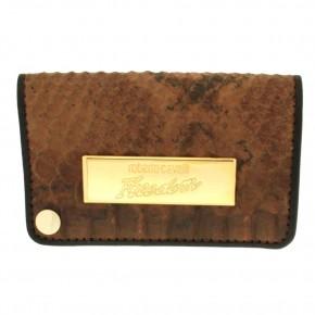 Δερμάτινο πορτοφόλι για κάρτες, του Roberto Cavalli κωδ. 60924