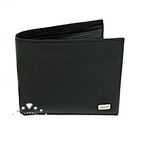 Δερμάτινο πορτοφόλι αντρικό μαύρο, Gianfranco Ferre κωδ. 90625