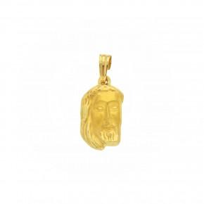 Κεφαλή Χριστού χρυσή κενή Medium