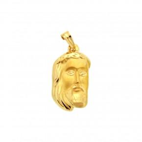 Κεφαλή Χριστού χρυσή κενή Large