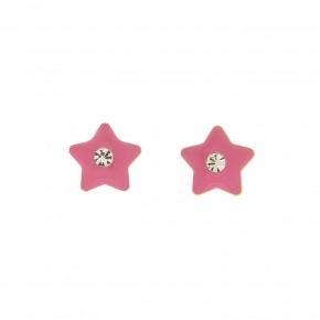 Σκουλαρίκια φουξ αστέρια