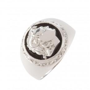 Δαχτυλίδι λευκόχρυσο Μέγας Αλέξανδρος
