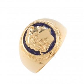 Δαχτυλίδι χρυσό Μέγας Αλέξανδρος