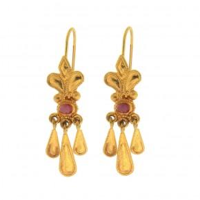 Βυζαντινά κρεμαστά σκουλαρίκια