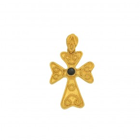 Βυζαντινός σταυρός κεντημένος