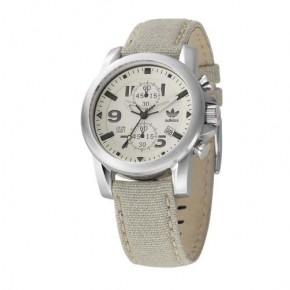 Ρολόι Adidas χρονόμετρο με μπεζ λουρί