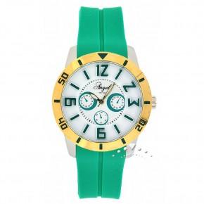 Ρολόι Angel, με πράσινο καουτσούκ