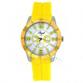 Ρολόι Angel, με κίτρινο καουτσούκ