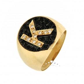 Δαχτυλίδι Chevalier στρόγγυλο