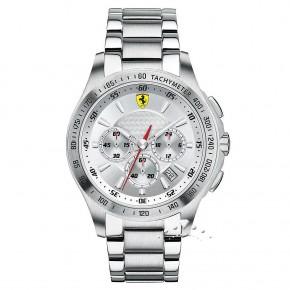 Ρολόι Ferrari με μπρασελέ και χρονόμετρο
