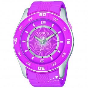 Ρολόι Lorus ροζ με φως
