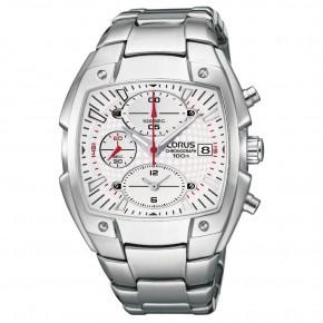 Ρολόι Lorus τετράγωνο με χρονόμετρο