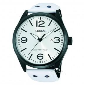 Ρολόι Lorus με άσπρο λουρί