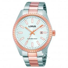 Ρολόι Lorus με δίχρωμο μπρασελέ