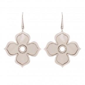 Σκουλαρίκια flowers mother of pearl