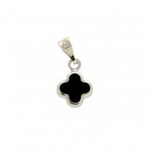 Λευκόχρυσος μαύρος σταυρός
