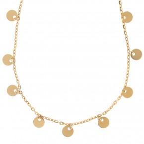 Kολιέ Gabriela Rigamonti Gold Life Circles