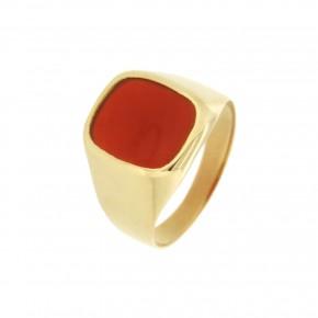 Ανδρικό δαχτυλίδι minimal