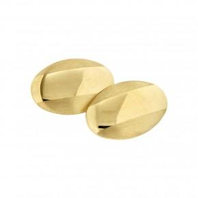 Χρυσά μανικετόκουμπα στρογγυλά