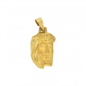 Κεφαλή Χριστού χρυσή Medium κ375