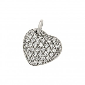 Καρδιά πλαγιαστή γεμάτη με πέτρες