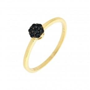 Δαχτυλίδι Piccolo μαύρο
