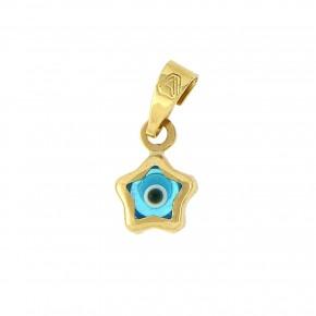 Μάτι χρυσό αστέρι κ9