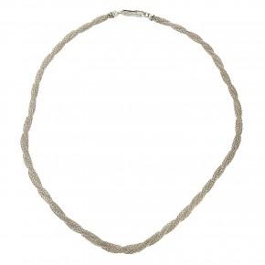 Αλυσίδα στριφτή από ασήμι 925