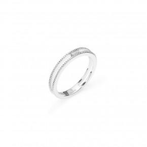 Διαμαντένιο δαχτυλίδι μονόπετρο baguette