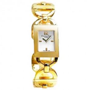 Ρολόι Christian Dior Malice, με επίχρυσο μπρασελέ