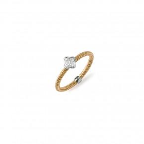 Δαχτυλίδι σταυρός diamonds
