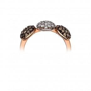 Δαχτυλίδι με κύκλους diamonds