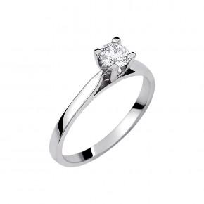 Δαχτυλίδι μονόπετρο diamond τετράγωνο
