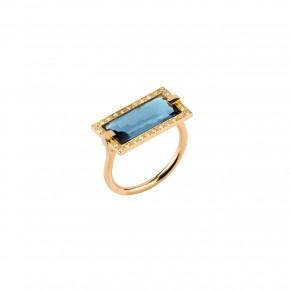 Bizzotto δαχτυλίδι οριζόντιο Profondo Collection