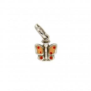 Παιδικό κρεμαστό λευκόχρυση πεταλούδα