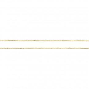 Αλυσίδα Forzetina σε κίτρινο χρυσό 40 εκατοστών, σε 14 καράτια, κ585